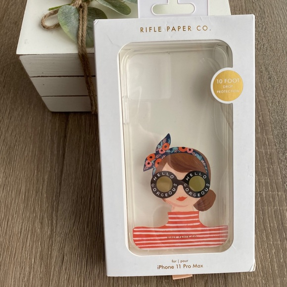 ‼️SOLD‼️New Rifle Paper CO. Case-iPhone 11 Pro Max